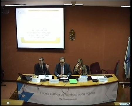 José María Lago García, subdirector xeral de Acción Exterior - Seminario Desafíos de la Gestión Pública Democrática y las Políticas Públicas en Brasil y la CCAA de Galicia